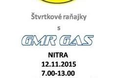 Raňajky Nitra 12.11. 2015