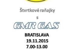 Raňajky Bratislava 19.11. 2015