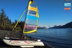 Přeplutí Beringovi úžiny na rekreační jachtě za podpory GMR GAS ®